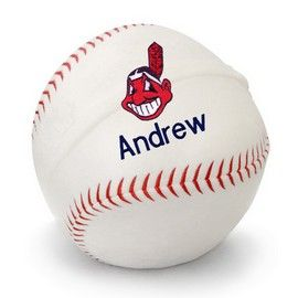 8 best cleveland indians baby gifts images on pinterest cleveland indians personalized plush baseball cleveland indians at designs by chad jake personalized baby gifts negle Images