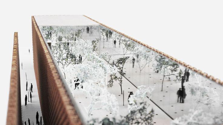 Projekt Pawilonu Polskiego EXPO 2015, Polish Pavilion Expo 2015, 2pm Architekci proj. Piotr Musiałowski, Michał Adamczyk, Stanisław Ignaciuk, Michał Lenczewski, Piotr Zubala