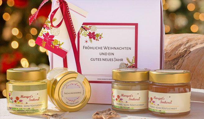 Firmengeschenke Weihnachten.Honig Geschenk Zu Weihnachten Honig Zu Weihnachten Geschenke
