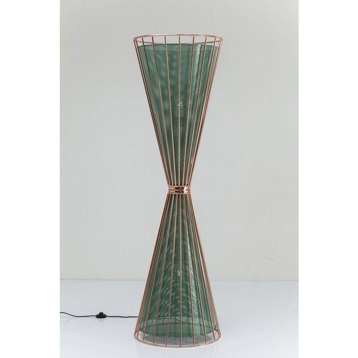Φωτιστικό Δαπέδου Wire Bowl   Ενα φωτιστικό Δαπέδου, που και σαν στυλ αλλά και σαν χρώμα κάνει την διαφορά.  €1.030
