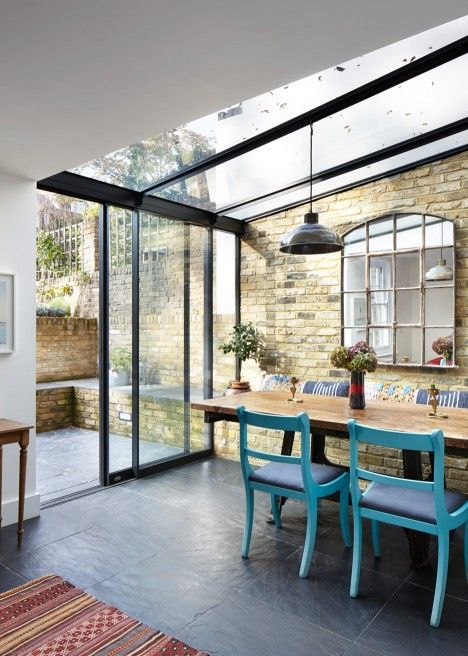 Mile End house extension by HÛT                                                                                                                                                                                 More