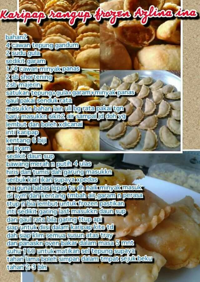 Karipap frozen | Spicy recipes, Recipes, Food and drink