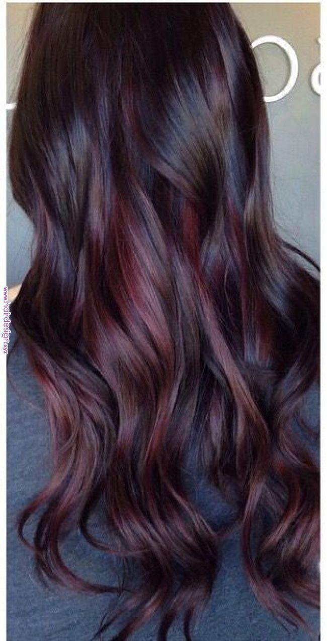 Purple Tones Hair Amp Beauty In 2019 Pinterest Balayage Hair Styles And Hair Purple Tones Hair Amp Beauty Wine Hair Color Wine Hair Hair Styles
