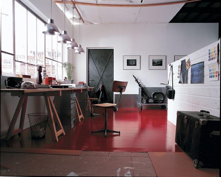 un bureau baign de lumi re bureau pinterest bureau lumi res et faience salle de bain. Black Bedroom Furniture Sets. Home Design Ideas