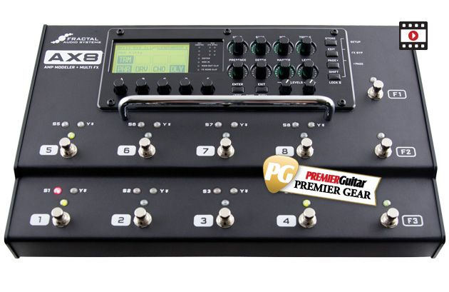 Fractal Audio Systems AX8 Review | Premier Guitar