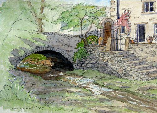 Gyhll Beck, Kettlewell by Doug Elliiot
