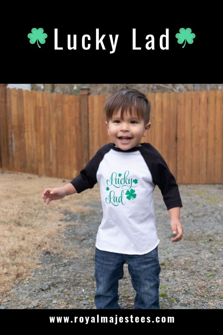 55667a8f82a Boys Lucky Lad Saint Patricks Day Shirt in 2019