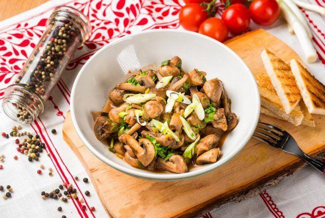Retete Culinare - Tocanita de ciuperci- de post