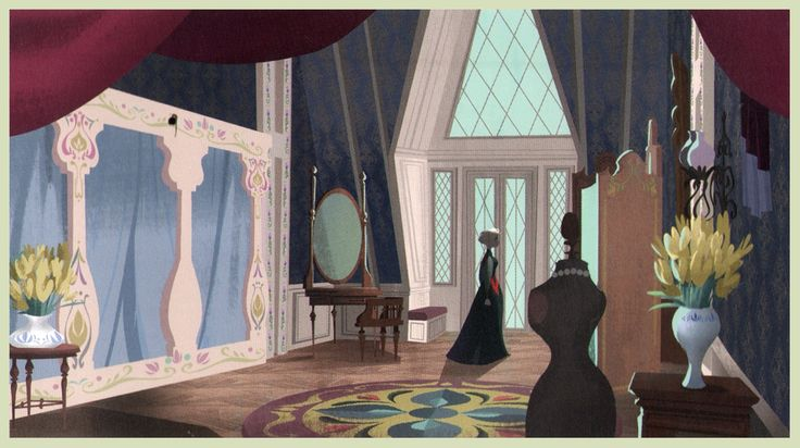 Frozen - Arendelle Castle Concept Art - Frozen Photo (37451738) - Fanpop
