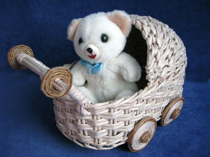 How to weave a baby carriage. Part 1.1.  Body.