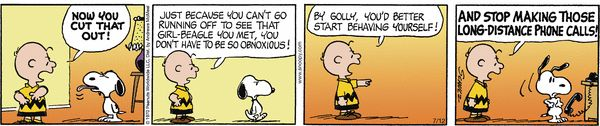 Peanuts for 7/12/2017