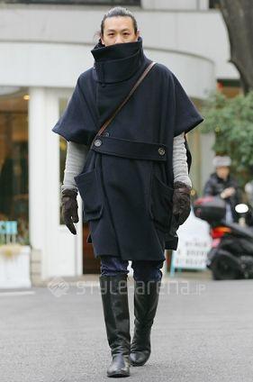 Awesome! japanese men's style. #FashionFriday #Japanese #StreetStyle