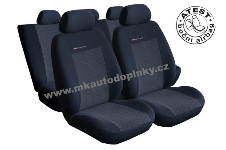 Autopotahy | Galaxy od 6/1995-5/2006 | Autopotahy Ford Galaxy, I, II, od r. 94-2006, 7 míst, antracit | MK autodoplňky