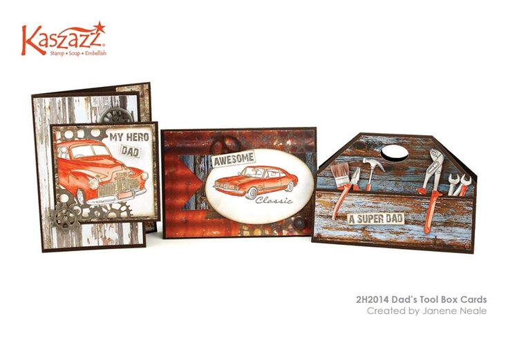 2H2014 Dad's Tool Box Cards