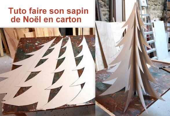 Faire un sapin de no l en carton les tutos tutoriel for Sapin en carton a decorer