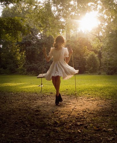 summer day swing♥