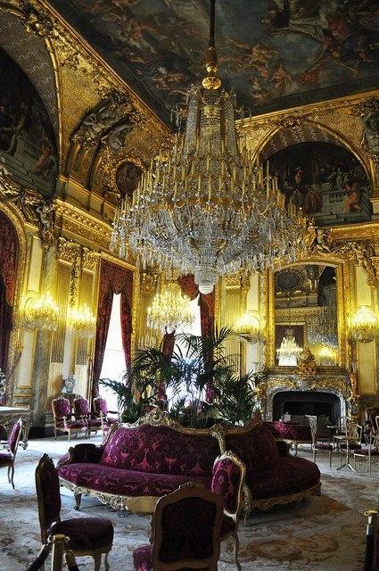 Napoleon III Apartments - Lourve Museum