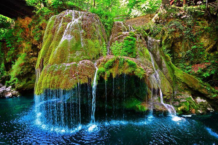 bigar waterfall romania - Google Search