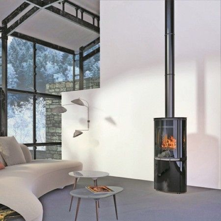 les 25 meilleures id es de la cat gorie poele a bois scandinave sur pinterest granul s bois. Black Bedroom Furniture Sets. Home Design Ideas