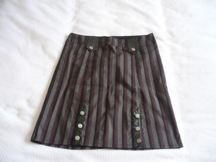 LIP SERVICE Strictly Stripes skirt #71-107