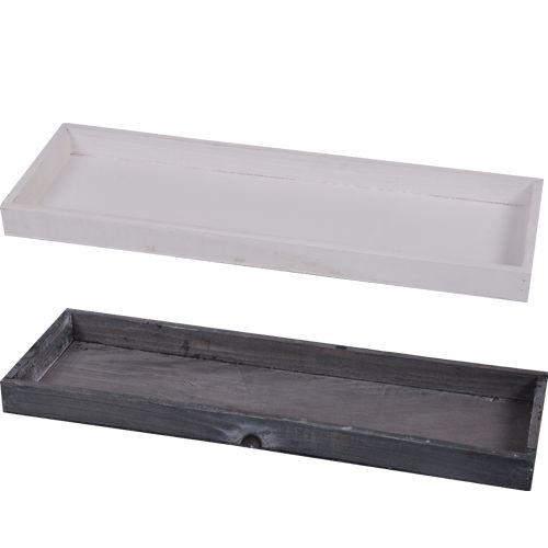 Deco tray kaarsplateau hout 42x14x3cm decoratie action nederland b v diy goedkope - Deco natuurlijk hout ...