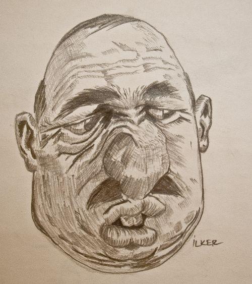 adam  |  Kurşun kalem  4B - 6B - 8B