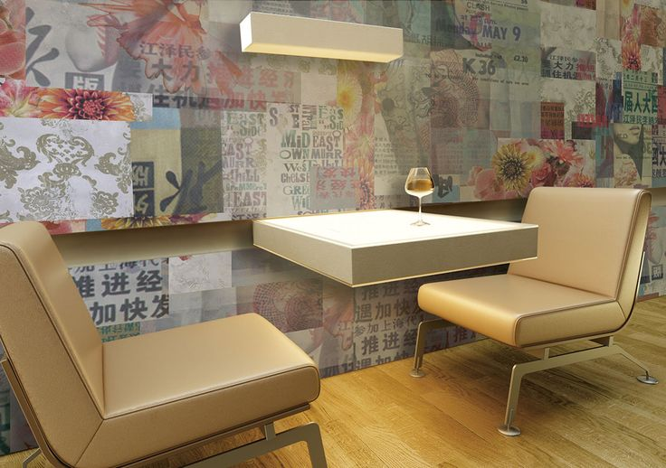 New Horizons: Carta da parati Pop // Pop Wall Covering by Glamora