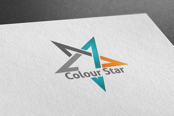 I just released Colour Star Logo on Creative Market.