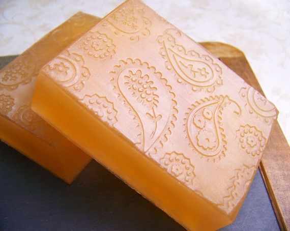 Sweet Orange and Green Clover - Handmade Glycerin Soap
