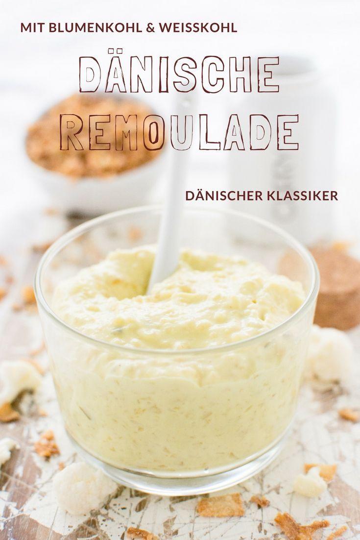 Dänische Remoulade selber machen - ganz einfach und leicht mit diesem Rezept von herzelieb. In Dänemark muss Weißkohl und Blumenkohl in der Mayonaise sein!
