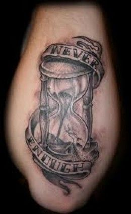 Hourglass concept for next stage of my leg tattoo
