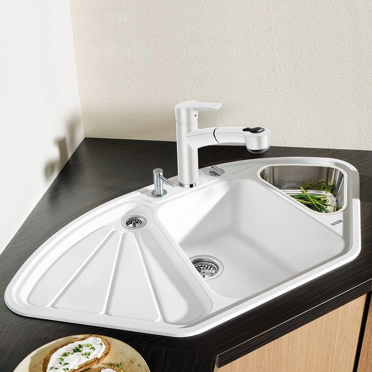blanco corner kitchen sink                                                                                                                                                                                 More