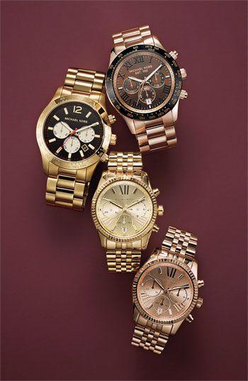 michael kors chronograph bracelet 38mm
