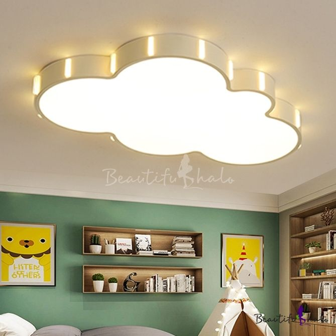 Nordic Style Cloud Led Flush Light Baby Kids Room Lighting Fixture In 2020 Kids Room Lighting Room Lights Kids Room Lighting Fixture