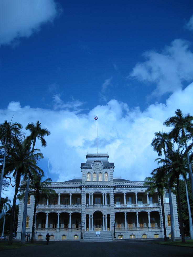 ʻIolani Palace, Honolulu, Hawaii