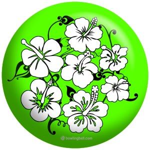 OTB Flower Lime/Black - Favorite Color. Favorite Flower.