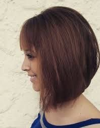 Image result for medium angled bob with bangs