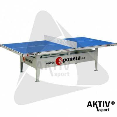 Sponeta S6-67e kék kültéri ping-pong asztal