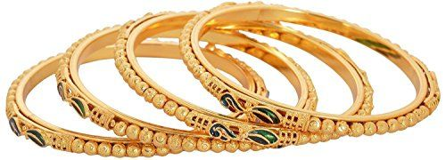 Indian Bollywood Green Gold Plated Set of 4 Bangles For W... https://www.amazon.com/dp/B01M6DSGHR/ref=cm_sw_r_pi_dp_x_QnRNyb0PKXG40