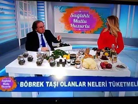 İbrahim Saraçoğlu - Böbrek taşı için bitkisel kür - YouTube