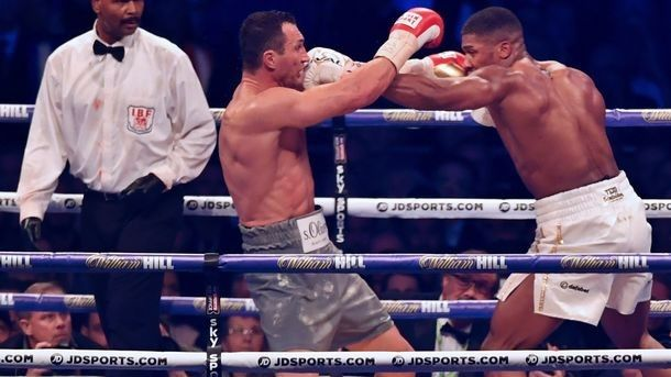 Klitschko's fight – Joshua is recognized as the best in 2018