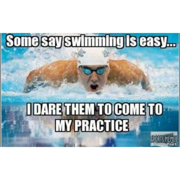 I find it funny when people say swimming is the easiest sport or it's not a sport #swimmingprobs