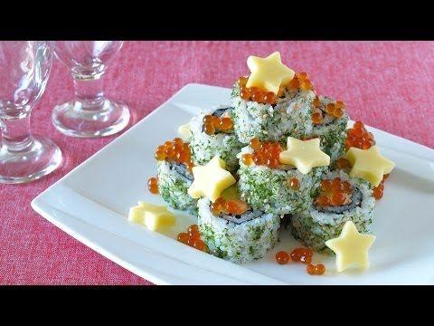 Buena Idea!! Sushi de Navidad!! GO! https://youtu.be/p3bSHdjCAJY