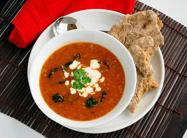 Spicy lentil and chickpea soup: Soups, Soup Ideas, Including Cake, Chickpea Soup, Food Soup, Soup Recipes, Chickpeas, Lentils