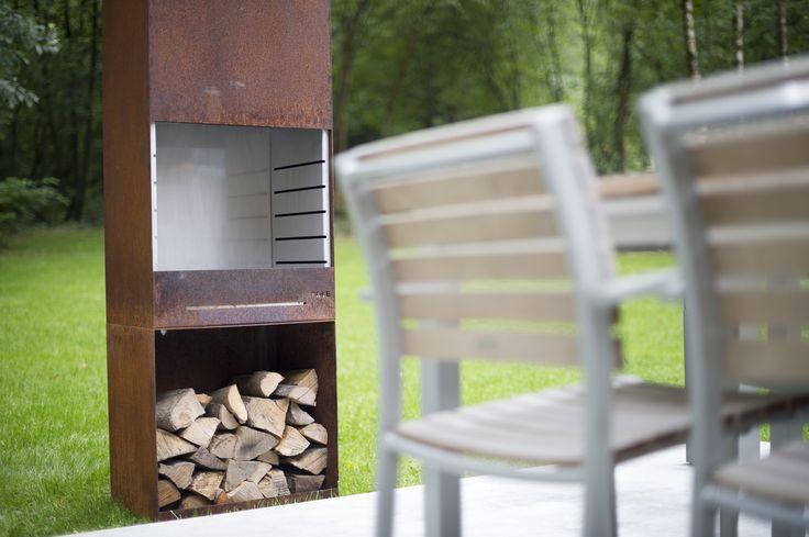 tole feu de jardin et barbecue k60 tole k60 pinterest. Black Bedroom Furniture Sets. Home Design Ideas