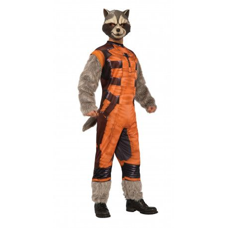 Disfraz de Rocket Raccoon Guardianes de la Galaxia #Costume #Marvel #Guardianes #Galaxia #RocketRaccoon