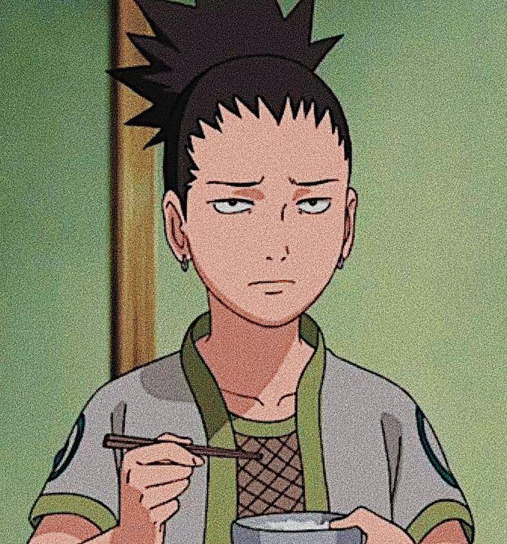 Shikamaru // icon in 2020 Naruto shippuden anime