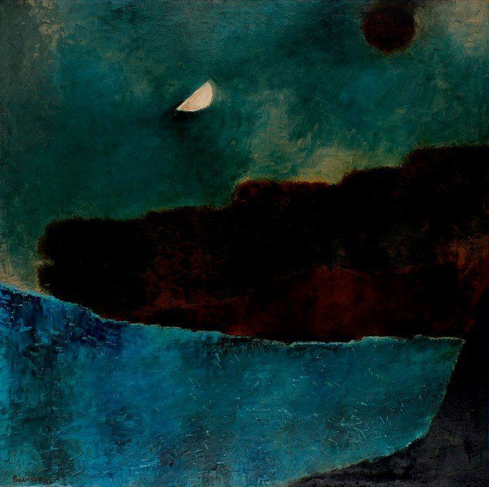 Akbar Padamsee (B. 1928) Untitled (Metascape), 1972