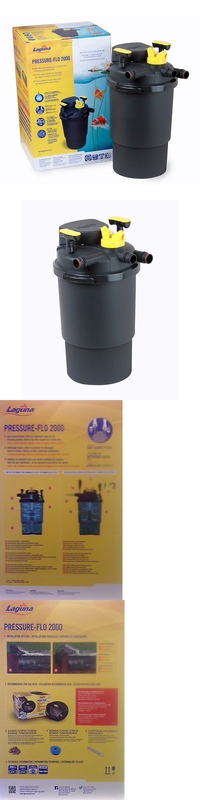 Other Ponds and Water Features 57230: Laguna Pressure-Flo 2000 Uvc Filter 13-Watt Uv Lamp -> BUY IT NOW ONLY: $299.99 on eBay!