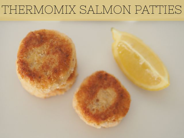Just like mum used to make! Salmon rissoles made in the Thermomix are simple, easy, healthy and delicious. Make them!